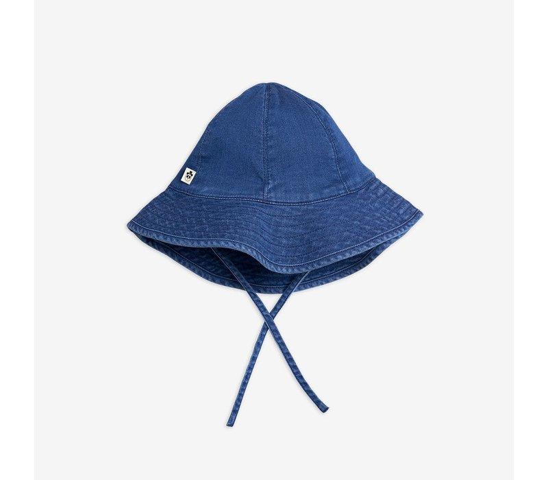 Mini Rodini  Denim Strawberry Sun Hat