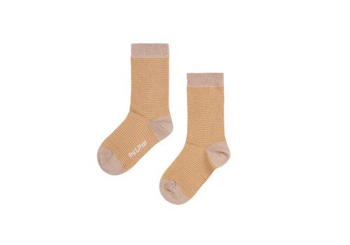Phil&Phae Phil&Phae Golden Stripe Socks
