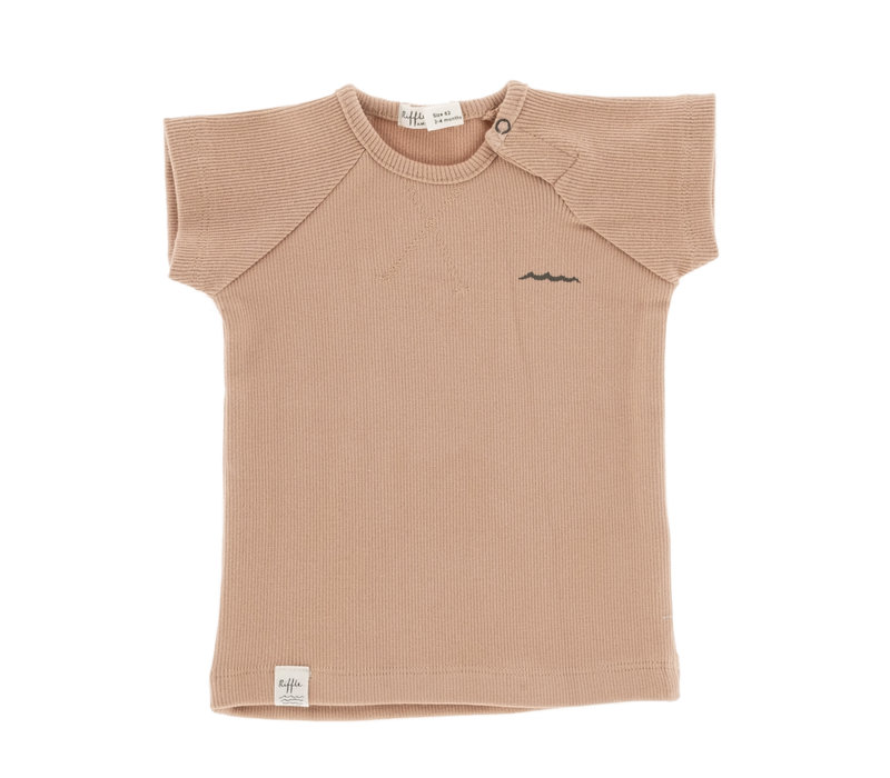 Riffle Shortsleeve Pink