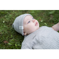 Riffle Hat Green/grey stripe