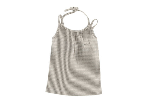 Riffle Riffle Dress grey/green stripe