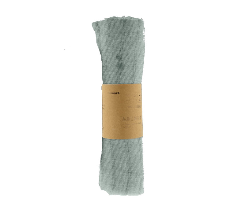Copy of Snooze Baby ORGANIC Swaddle cot 120x120 cm Stone Beig