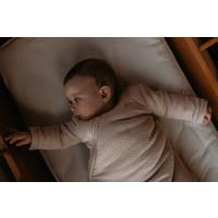 Snoozebaby ORGANIC Sleepsuit Longsleeve  winter TOG 2.0 Milky Rust