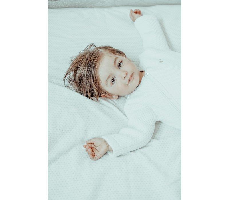 Snoozebaby ORGANIC Sleepsuit Longsleeve  winter TOG 2.0 STONE BEIGE