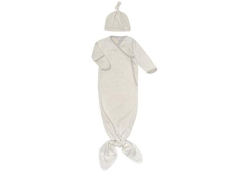 Snoozebaby Snoozebaby ORGANIC new born cocoon  incl hat