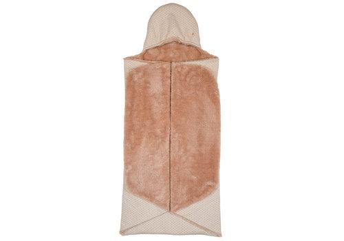 Snoozebaby Snoozebaby ORGANIC Wrap Blanket Trendy Wrapping Milky Rust