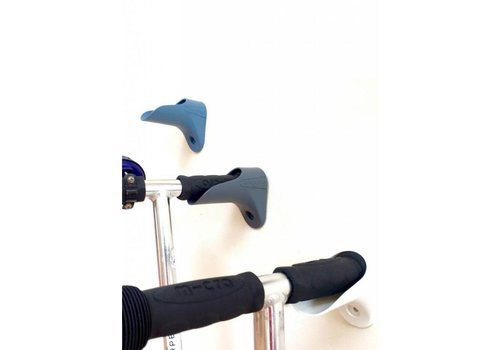 MICRO Micro stephaak / scooterpeg zwart