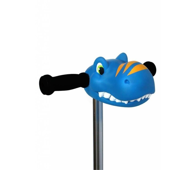 Micro Scootaheadz dino blauw