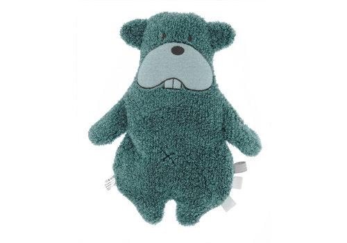 Snoozebaby Snoozebaby ORGANIC soft toy y Bammy Beaver Smokey Green