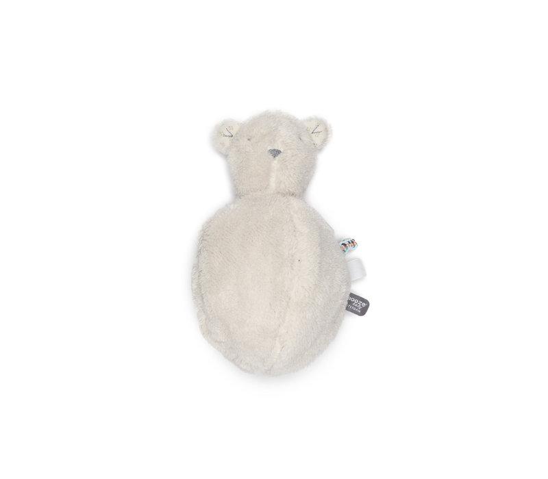 Snoozebaby ORGANIC soft toy Bobby Bear Ball Stone Beige