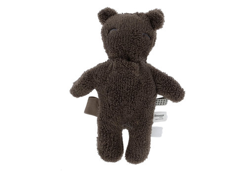 Snoozebaby Snoozebaby ORGANIC soft toy Billy Bear cappuccino