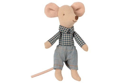 Maileg Maileg Little  Brother Mouse in Matchbox