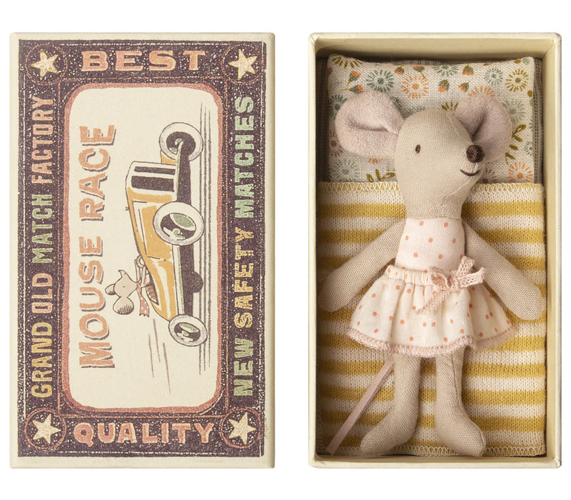Copy of Maileg Little Sister Mouse in Matchbox