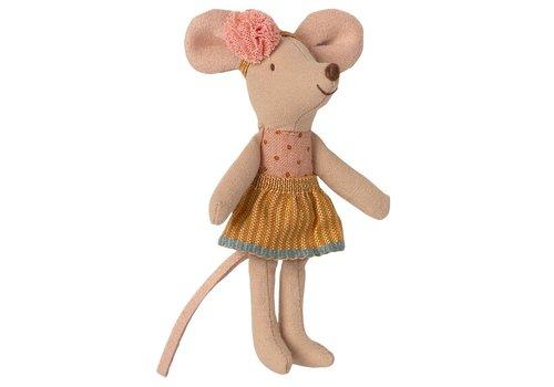 Maileg Maileg Little Sister Mouse in Matchbox - 16 1726 01