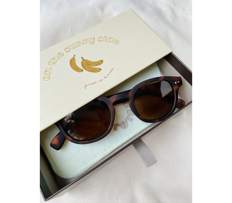 Konges Slojd Sunglasses Junior Tortoise