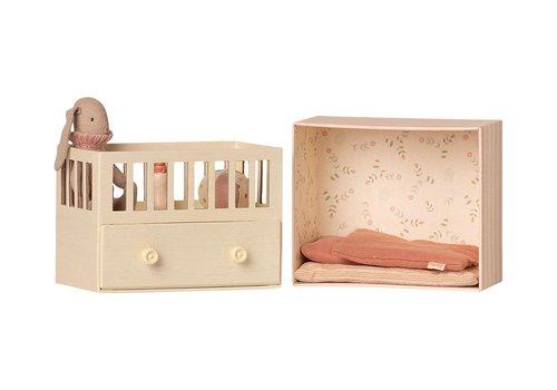 Maileg Maileg Baby room with Micro bunny