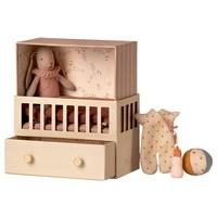 Maileg Baby room with Micro bunny