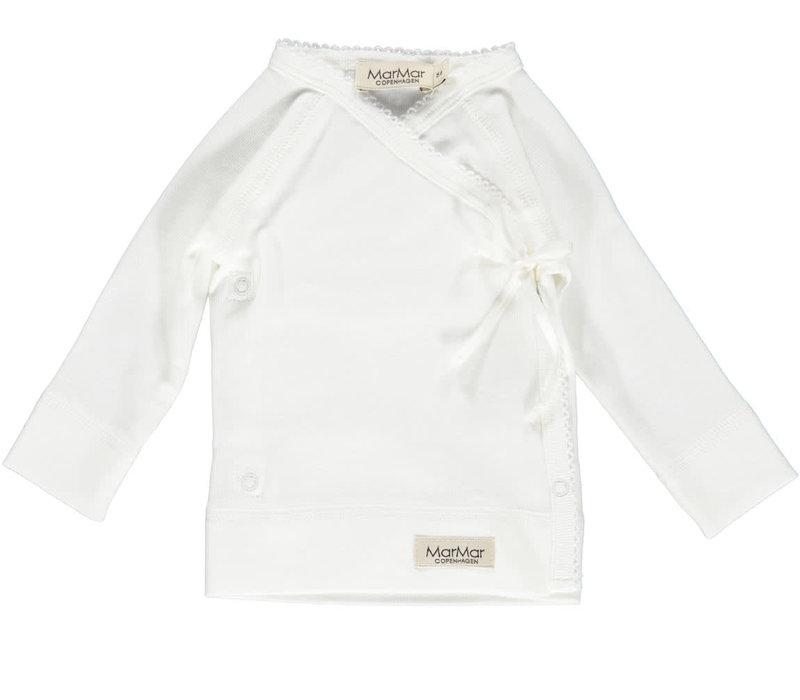 MarMar Copenhagen New Born Wrap LS White Tut