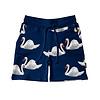 Snurk Snurk Swan Lake Panda Shorts