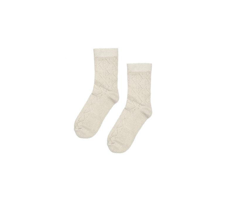 Maed for Mini Chique Chinchilla Basic socks