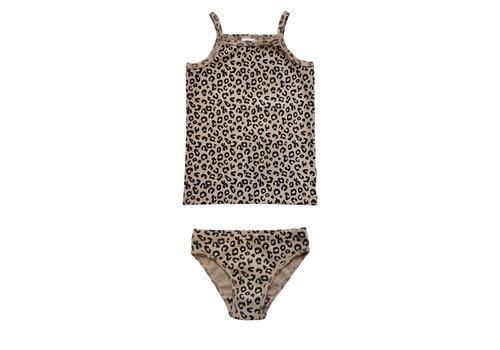 Maed for mini Maed for Mini Brown Leopard brief set