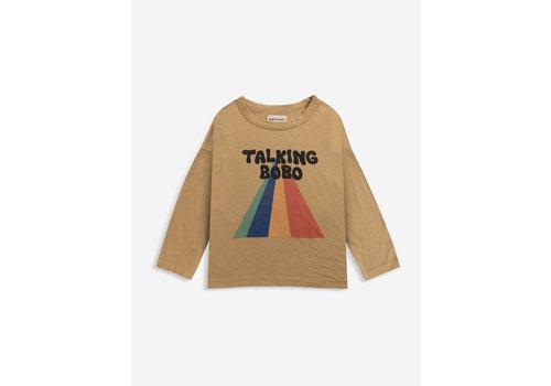 Bobo Choses Bobo Choses Talking Bobo Rainbow long sleeve T-shirt