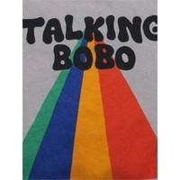 Bobo Choses Talking Bobo Rainbow sweatshirt
