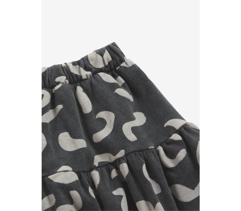 Bobo Choses Shapes All Over fleece skirt