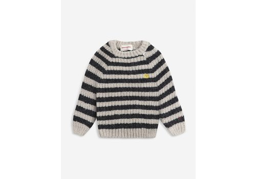 Bobo Choses Bobo Choses Stripped knitted jumper