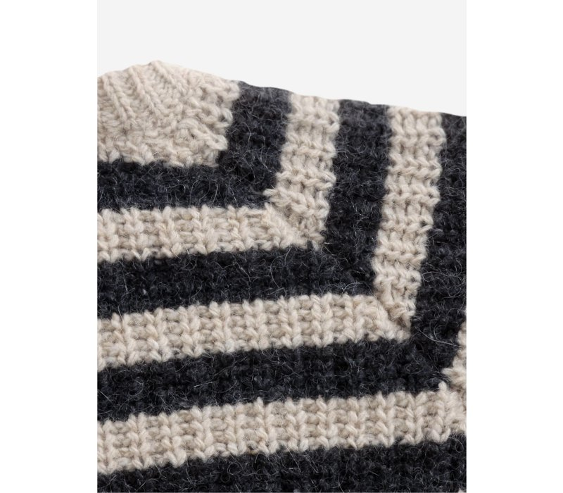 Bobo Choses Stripped knitted jumper
