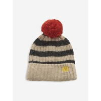 Bobo Choses Stripped knitted beanie