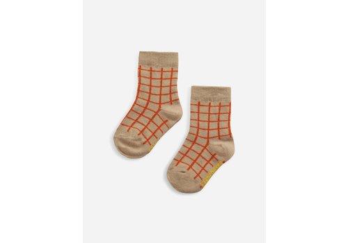 Bobo Choses Bobo Choses Checkered baby socks