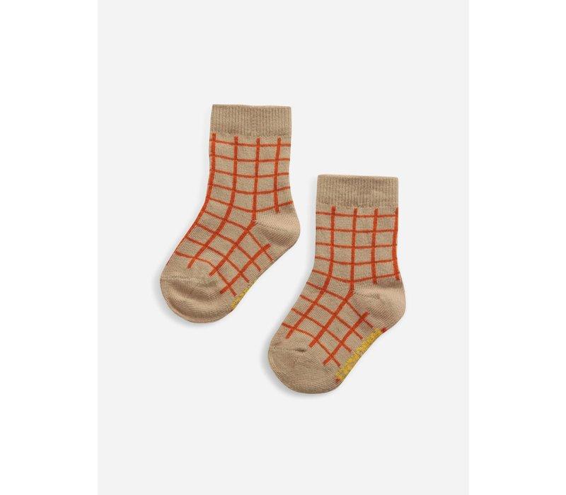 Bobo Choses Checkered baby socks