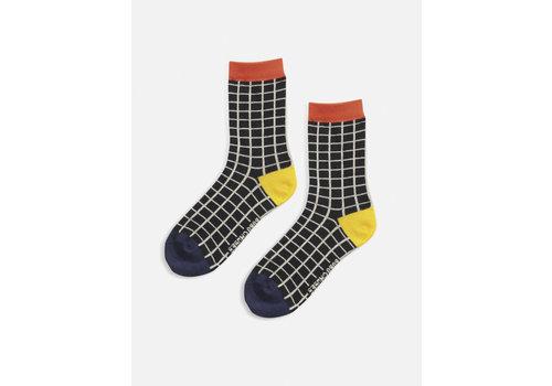 Bobo Choses Bobo Choses Checked Long Socks