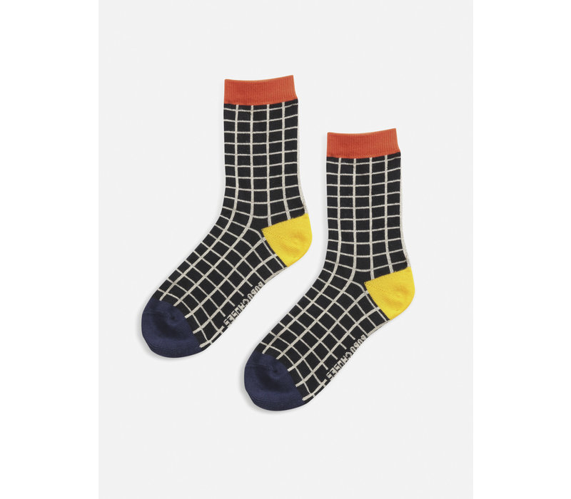 Bobo Choses Checked Long Socks