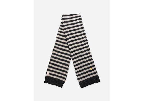 Bobo Choses Bobo Choses Wool-mix Striped Knit Scarf Women