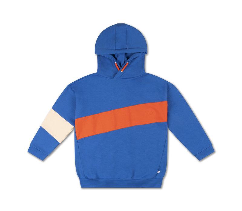 Repose AMS 5. hoodie, matisse blue color block