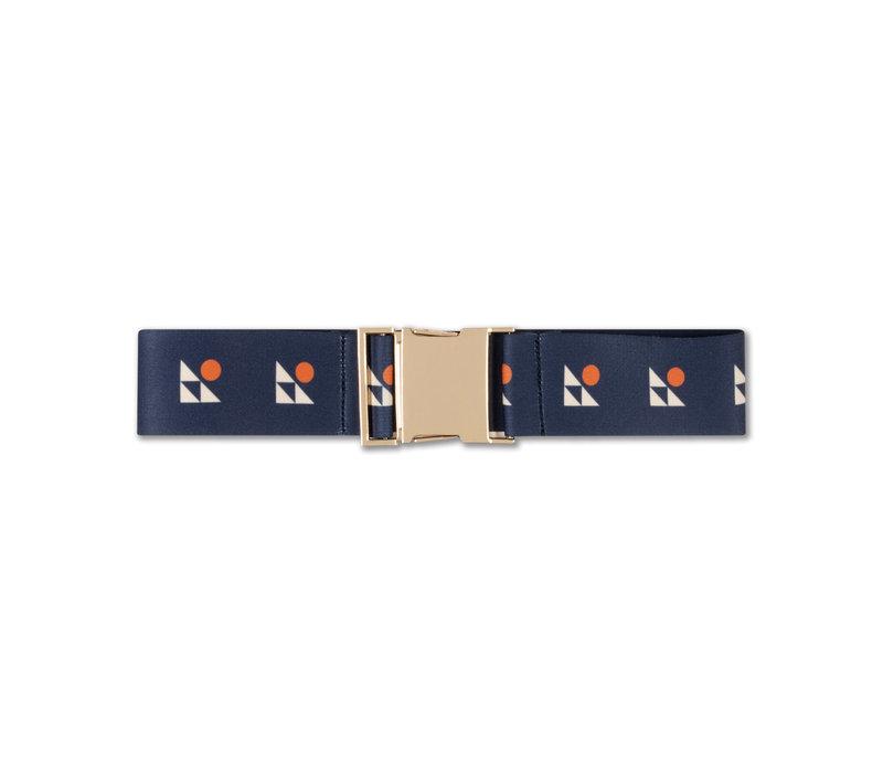 Repose AMS 55. belt, dark night blue logo