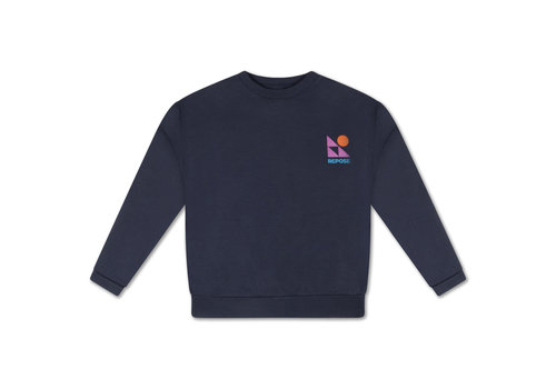 Repose AMS Repose AMS 10. Crewneck Sweater, dark night blue