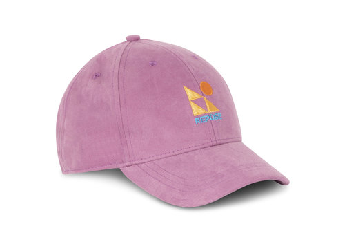 Repose AMS Repose AMS 52. Cap, Washed violet orchid