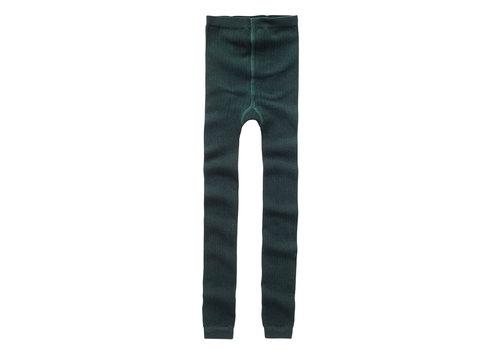 Mingo Mingo Sockless Tights Dark Emerald
