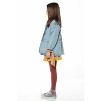 Piupiuchick Short Skirt v shape Camel Checkered