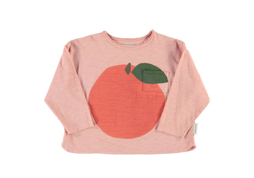 PIUPIUCHICK Piupiuchick Longsleeve t'shirt light pink with print