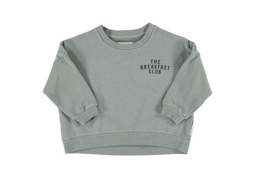 PIUPIUCHICK Piupiuchick Unisex sweatshirt Grey with Cereal box