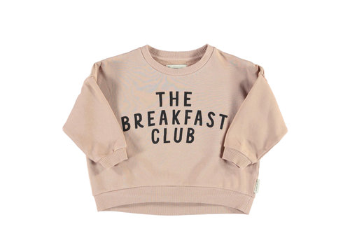 PIUPIUCHICK Piupiuchick Unisex sweatshirt Light Brown with The Breakfast Club Print