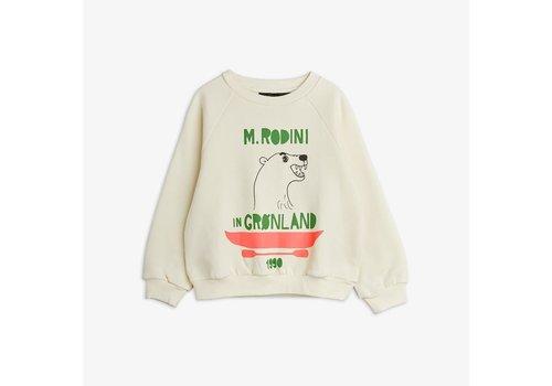 Mini Rodini Mini Rodini Polar Bear Sweatshirt Off White