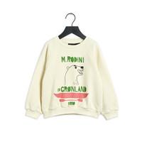 Mini Rodini Polar Bear Sweatshirt Off White