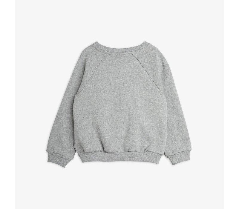 Mini Rodini Polar Bear Sweatshirt Grey Melange
