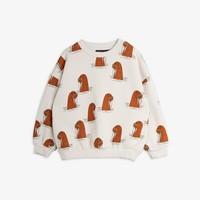 Mini Rodini Walrus AOP Sweatshirt Grey