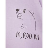 Mini Rodini Polar Bear Sweatshirt Purple